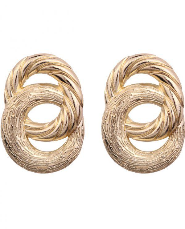 knots-oorbellen-goud
